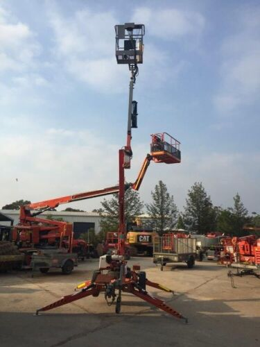 2009 Nifty 120TPE Cherry Picker/Trailer Mounted Boom 10.2m