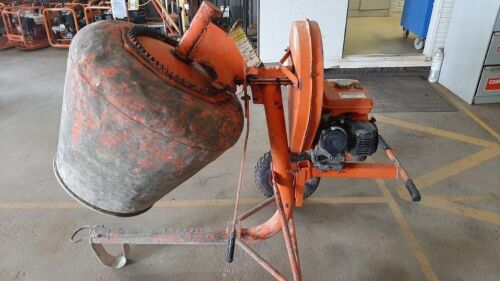 Concrete Mixer - 3ft 3 3Cu FT