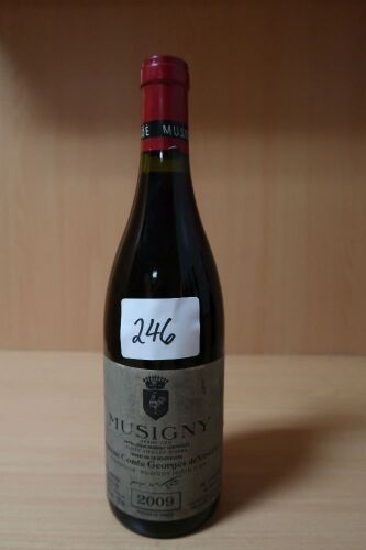 Domaine Comte Georges de Vogue Musigny Grand cru 2009 (1x750ml).Establishment Sell Price is: $760