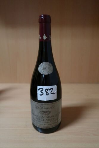 Pousse d'Or Chambolle Musigny charmes 2010 (1x750ml).Establishment Sell Price is: $750