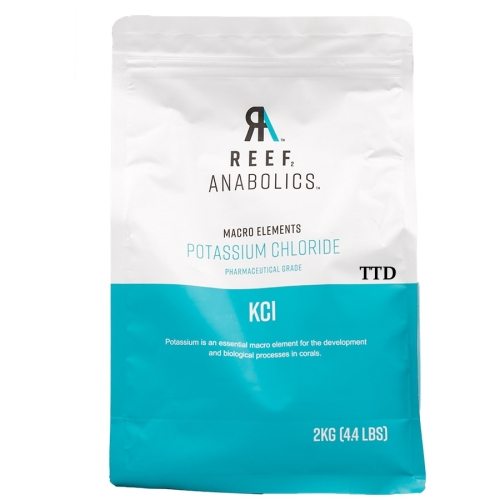 Reef Anabolics Macro Elements Potassium Chloride Two Packets x 2kg Each