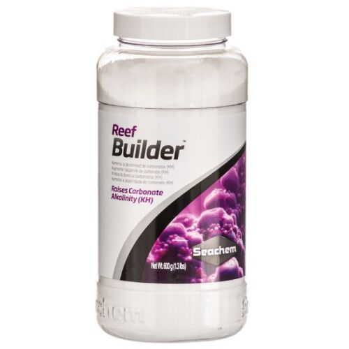 Seachem Reef Builder , Two Containers x 1.2 kg Each
