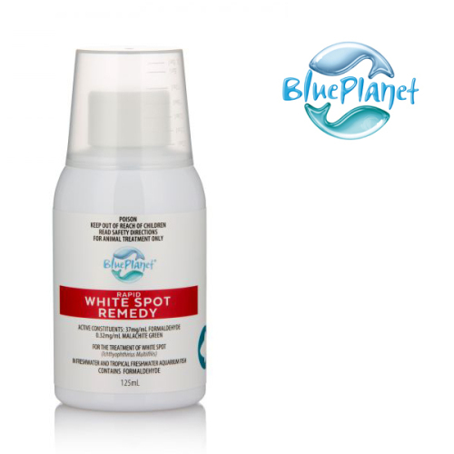 Mix Blue Planet Fungus Cure x 5 Bottles 125mL & White Spot Remedy