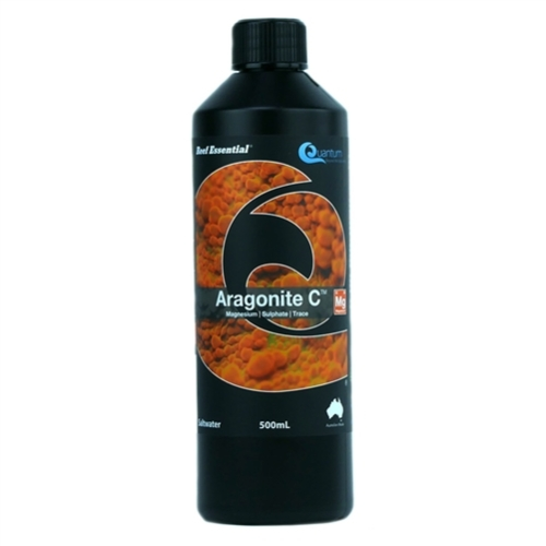 Ultimate Aquacare Reef Essential 4 x 500ml Containers Aragonite C - Magnesium Sulphate and Trace