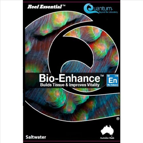 Quantum Bio Metals 1000ml 1L x four containers Ultimate Aquacare Reef Essential Green Coral Colour