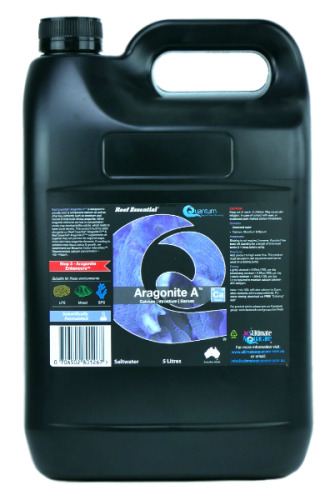 Quantum Aragonite A 5L Ultimate Aquacare Reef Essential Marine Calcium