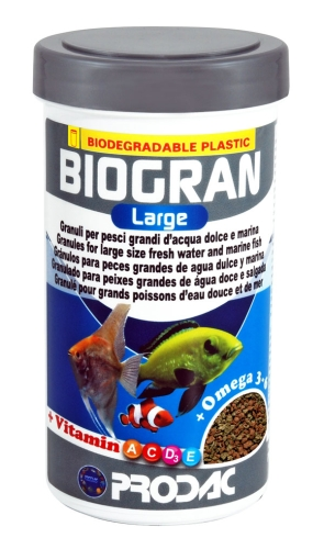 Prodac Biogran Large - Four containers 450g each