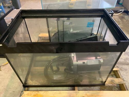 one large fishtank fish accessories 90L x 65 H x 55W