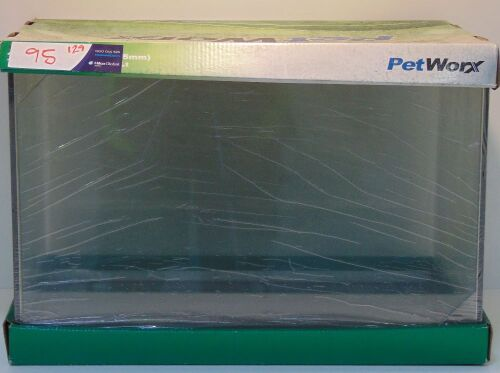 Petworx Fish tank 45 x 28 x 30cm (5mm)