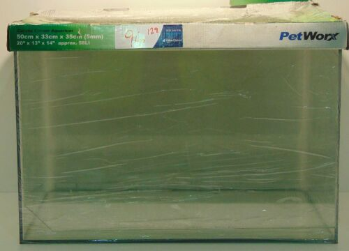 Petworx Fish tank 50 x 33 x 35cm (5mm)