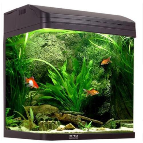 Aqua One AquaStyle 510 - 75L Curved Glass Aquarium.
