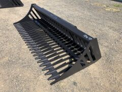 "Unreserved Unused 2019 78"" Skid Steer Rock Bucket (Location: Archerfield, QLD) - 2"