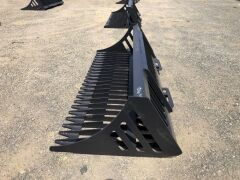 "Unreserved Unused 2019 78"" Skid Steer Rock Bucket (Location: Archerfield, QLD) - 3"