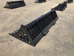 "Unreserved Unused 2019 78"" Skid Steer Rock Bucket (Location: Archerfield, QLD) - 4"