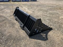 "Unreserved Unused 2019 78"" Skid Steer Rock Bucket (Location: Archerfield, QLD) - 6"