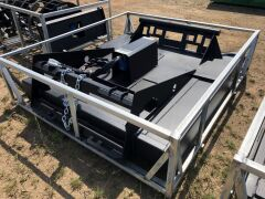 "Unreserved Unused 2019 72"" Skid Steer Brush Cutter Attachment (Location: Archerfield, QLD) - 8"