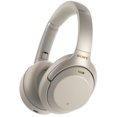 Sony WH1000XM3B Wireless Noise Cancelling Headphones Silver