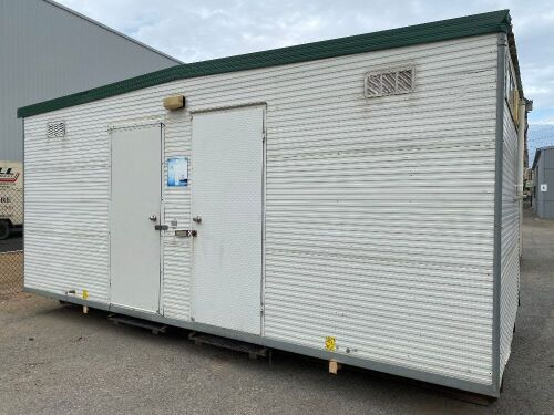 6m x 3m Transportable Ablution Building - RESERVE MET