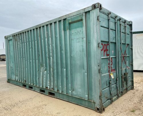 20' Shipping Container - RESERVE MET