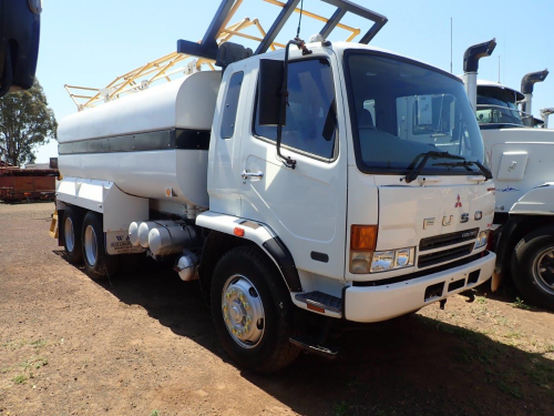 2007 Mitsubishi Fuso Fighter FN600 6x4, Water Truck