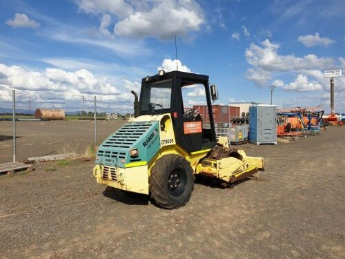 ***DO NOT LOT - REMOVED***2006 Rammax 5t Roller Padfoot