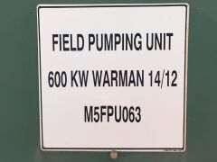 Field Pumping Unit (FPU 063) - 3