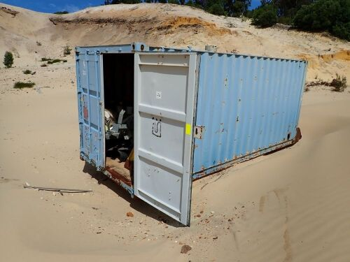 20' Shipping Container and contents