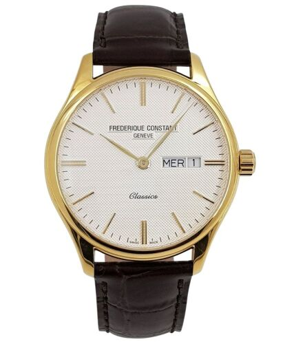 (DO NOT LOT) One gents analogue day/date Frederique Constant watch
