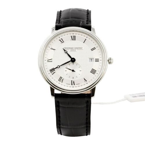 (DO NOT LOT) Frederique Constant Classics Slim Line Silver Dial Gents Watch