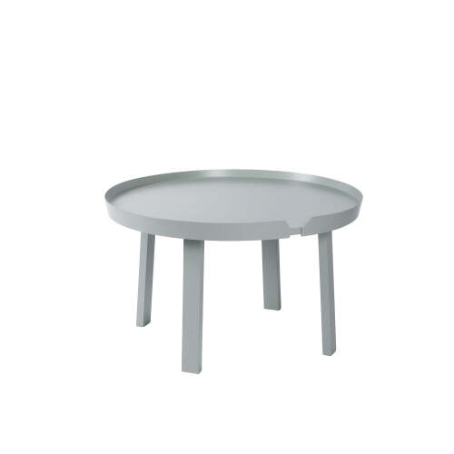 1 x Chase Round Coffee Table - Dark Grey