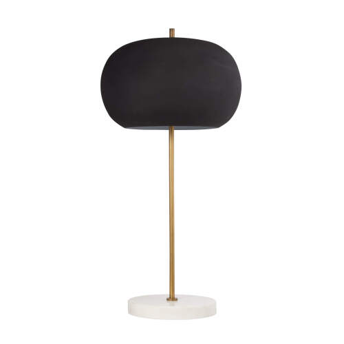 1 x Coco Table Lamp - Black + Gold