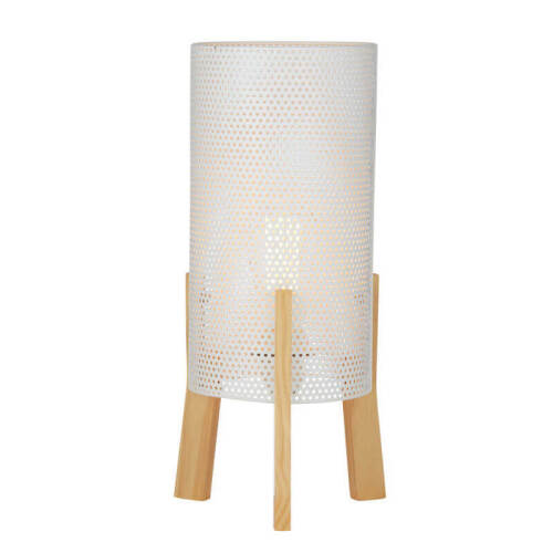 2 x Jude Table Lamps - White