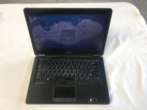 Laptop Computer, Dell Latitude E7440 Core i5, with power supply and case
