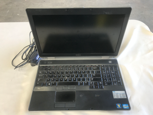 Laptop Computer, Dell Latitude E6530, Core i5, with power supply