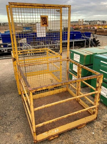 Forklift Man Cage Attachment