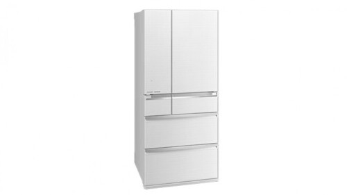 Mitsubishi Electric 743L Multi-Drawer French Door Fridge - Diamond White MRWX743CWA