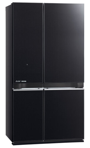Mitsubishi Electric 710L L4 Grande French Door Fridge MR-L710EN-GBK-A