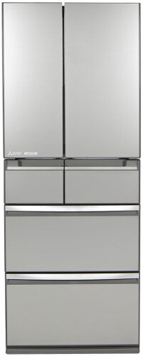 Mitsubishi Electric 500L WX Series 6 Door Multi Drawer Fridge MR-WX500C-S-A