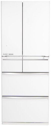 Mitsubishi Electric 500L WX Series 6 Door Multi Drawer Fridge MR-WX500C-W-A