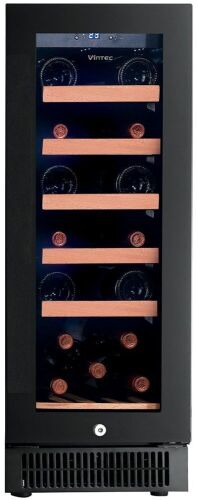 Vintec 20 Bottle Single Zone Wine Storage Cabinet VWD050SBA