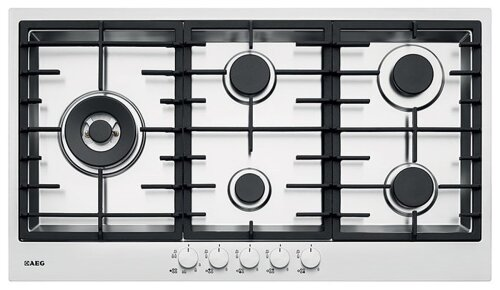 AEG HG90FXA 90cm Stainless Steel Gas Cooktop