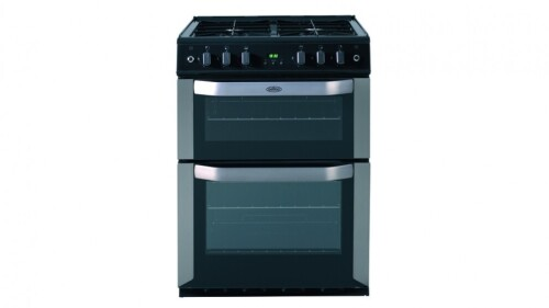 Belling 600mm Freestanding LPG Twin Cavity Cooker - Stainless Steel FSG61TCFSLPG