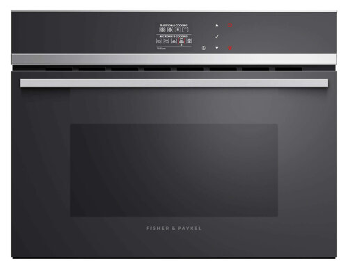 Fisher & Paykel OM60NDB1 60cm Built-in Combi-Microwave Oven 900W