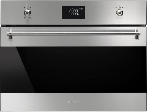 Smeg SFA4390MX 50L Built-In Microwave Oven 1000W