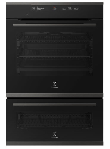 DNL Electrolux EVEP626DSD 60cm Pyrolytic Built-In Double Oven