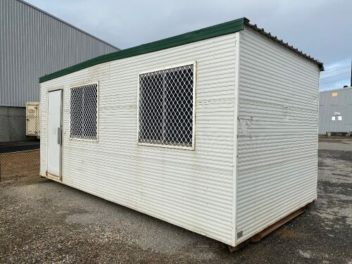 2003 6x3 Transportable Building