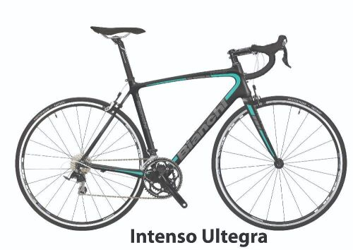 Bianchi Bike- Model YNB30T551z - Intenso Ultegra 11sp, 55cm