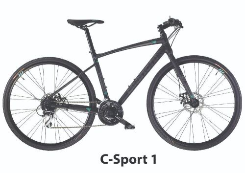 Bianchi Bike- Model YNB69C43KW - C-Sport 1 Acera 24sp Disc Mec 43cm