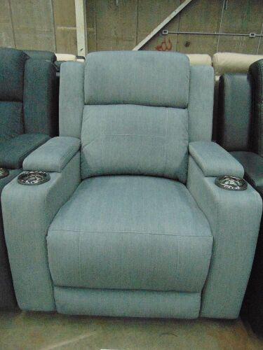 GAUCHO Fabric single seater Electric RECLINER Lounge