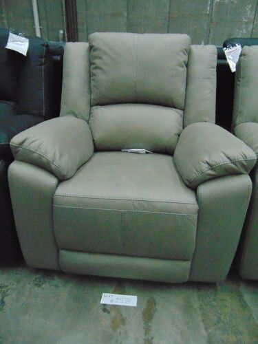 DNL GAUCHO Fabric Single Seater Electric Recliner - MIST